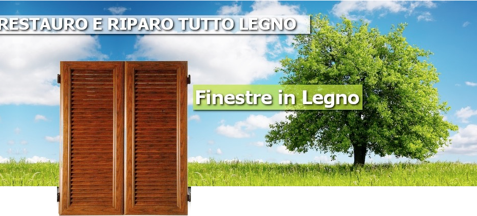 Chi siamo riparazione restauro porte finestre in legno - Manutenzione finestre in legno ...