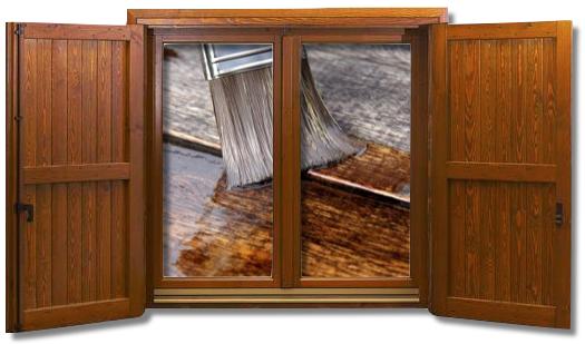 Riparazione restauro porte finestre in legno - Manutenzione finestre legno ...