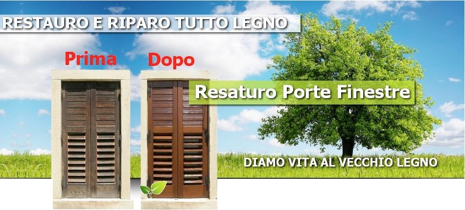 RESTAURO PORTE FINESTRE E MOBILI IN PROVINCIA DI LECCE Falegname
