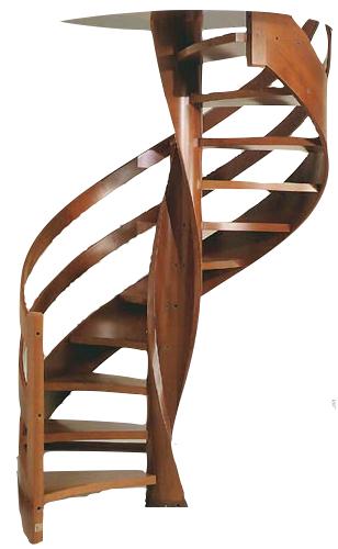 Restauro scale in legno